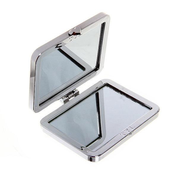 Зеркало косметическое ″Ромашки″ прямоугольник, цвета в ассортименте 8*5,5см купить оптом и в розницу