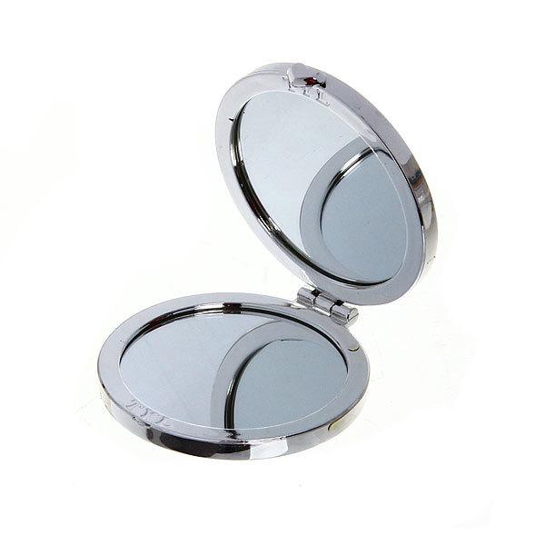 Зеркало косметическое ″Пионы″ круг, цвета в ассортименте d-7см купить оптом и в розницу