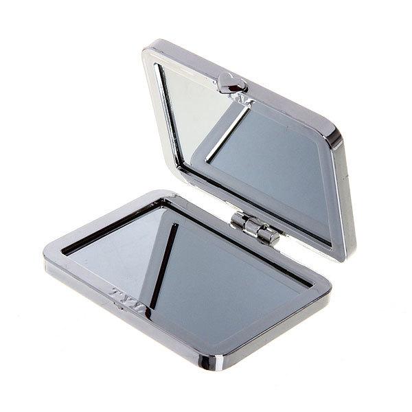 Зеркало косметическое ″Пионы″ прямоугольник, цвета в ассортименте 8*5,5см купить оптом и в розницу