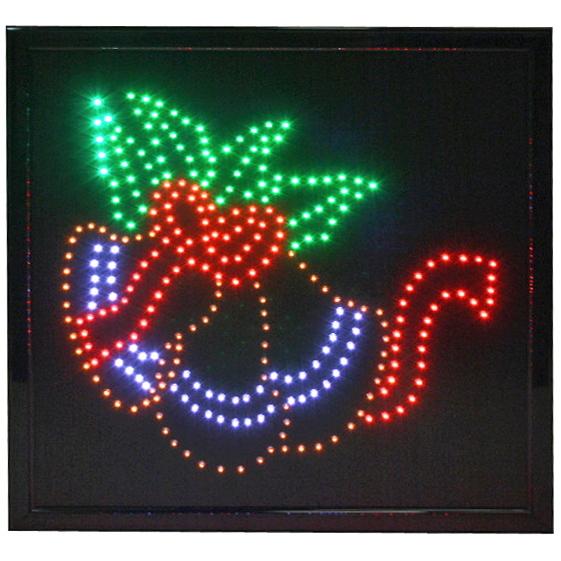 Световое табло LED 45*55см ″Колокольчики″, 220B 4цвета (LB-S07) купить оптом и в розницу
