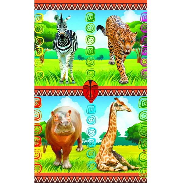 Наклейки Африканские животные 1899 /Квадра/ купить оптом и в розницу