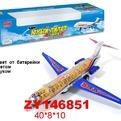Самолет на бат. 0967-1ZYC в кор. купить оптом и в розницу