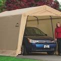 Гараж-в-Коробке 3x4,6x2,4м ShelterLogic, скатная крыша, песочный тент купить оптом и в розницу