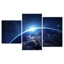 Картина модульная триптих 55*96 Космос диз.3 30-01 купить оптом и в розницу