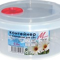 Контейнер для пищ.продуктов с клап.для СВЧ 1,9л 1/40 купить оптом и в розницу