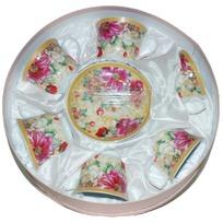 Набор чайный 12 предметов ″Хризантема″ (6 чашек, 6 блюдец) купить оптом и в розницу