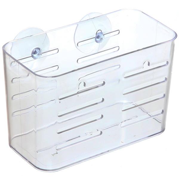 Полка для ванны на присосках 18.5х9х12 см 2255W купить оптом и в розницу