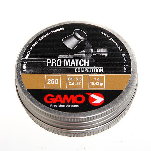 Пуля пневматическая Gamo Pro-Match, 5,5 мм, 1,0 гр (250 шт) купить оптом и в розницу