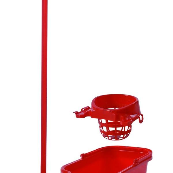 """Комплект для уборки ЭКОнекс """"Моп"""" mix solid (синий/красный/зеленый)/*30шт Konex купить оптом и в розницу"""