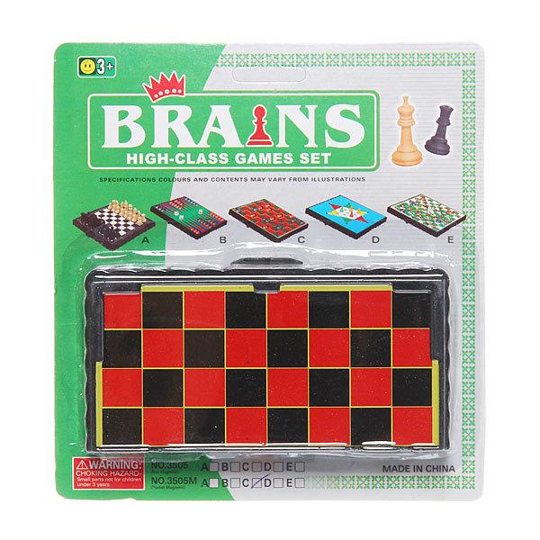 Игра настольная магнитная Шашки 12х12см в блистере 3505MC купить оптом и в розницу