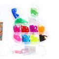 Набор резинок для плетения браслетов 600штук 12 цветов Зайка купить оптом и в розницу