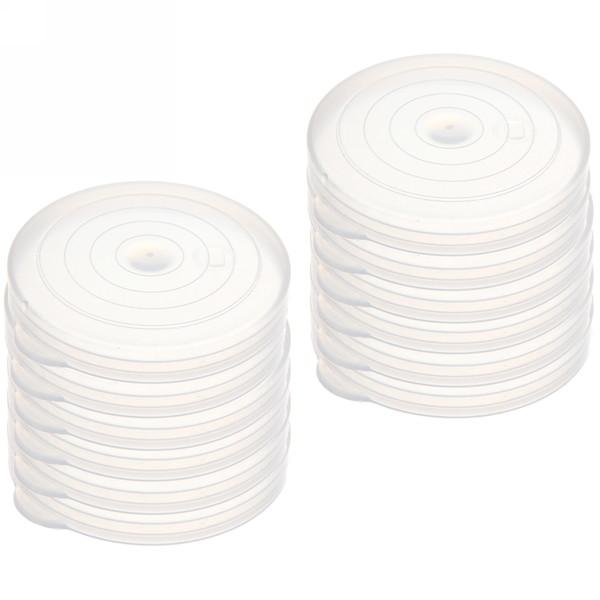 Крышка полиэтиленовая для банок в наборе 12шт купить оптом и в розницу