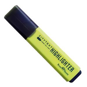 Маркер выд.BRUNO VISCONTI CityText клин/жало желтый 1-5мм купить оптом и в розницу