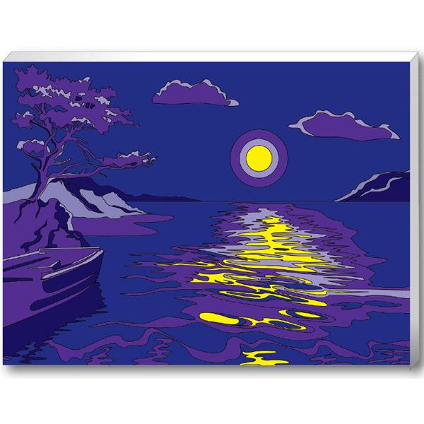 Набор ДТ Раскраска по номерам Лунная соната 30*40см 30178 купить оптом и в розницу