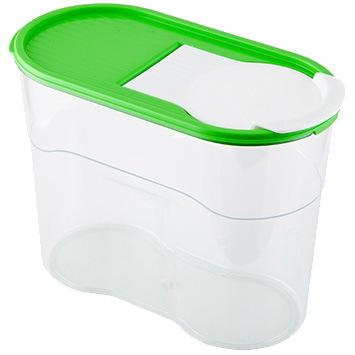 Банка для продуктов пластиковая ″Люкс″ 1,1л *20 купить оптом и в розницу