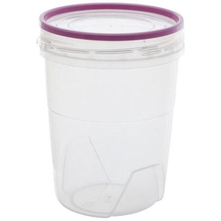 Банка для продуктов пластиковая ″Премиум″ 0,6л с герметичной крышкой *32 купить оптом и в розницу