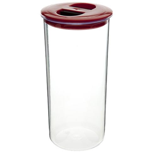 Банка для продуктов пластиковая 1,4л круглая *28 (ПБ) 26200 купить оптом и в розницу