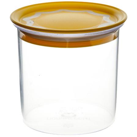 Банка для продуктов пластиковая 0,6л с вакуумной крышкой *48 купить оптом и в розницу