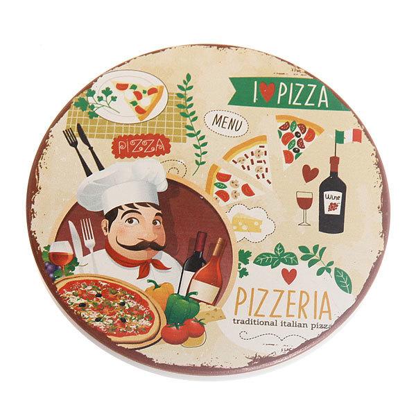 Подставка керамическая 10,8 см ″Повар с пиццей″ в ассортименте купить оптом и в розницу