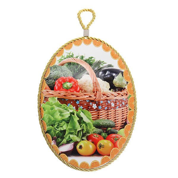 Подставка керамическая 16*23 см ″Овощи″ купить оптом и в розницу