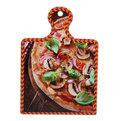 Подставка керамическая 19*13 см ″Пицца″ в ассортименте купить оптом и в розницу