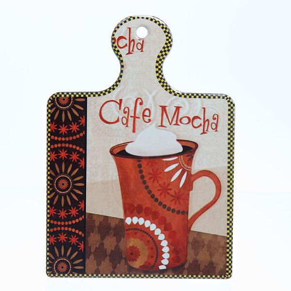 Подставка керамическая 19*13 см ″Кофе″ в ассортименте купить оптом и в розницу
