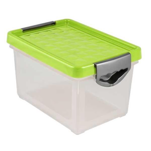 Ящик для хранения Systema 48 л зеленый прозрачный*4 купить оптом и в розницу