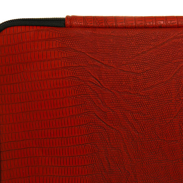 Чехол для планшета ″Классика″ внутри мягкий ворс бордовый цв. 31*29 купить оптом и в розницу