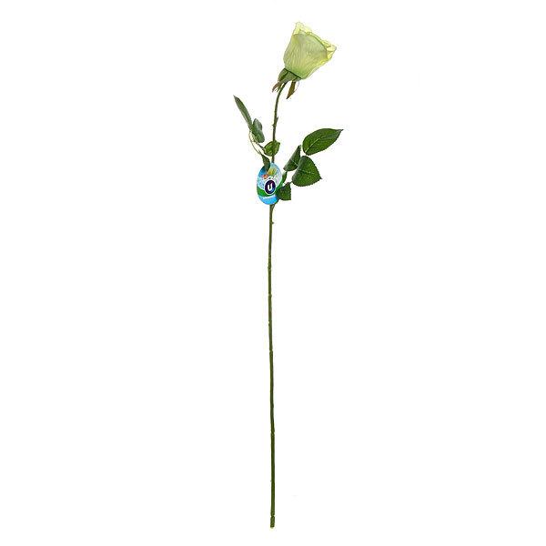 Цветок искусственный 70см декоративный Роза 2листочка купить оптом и в розницу