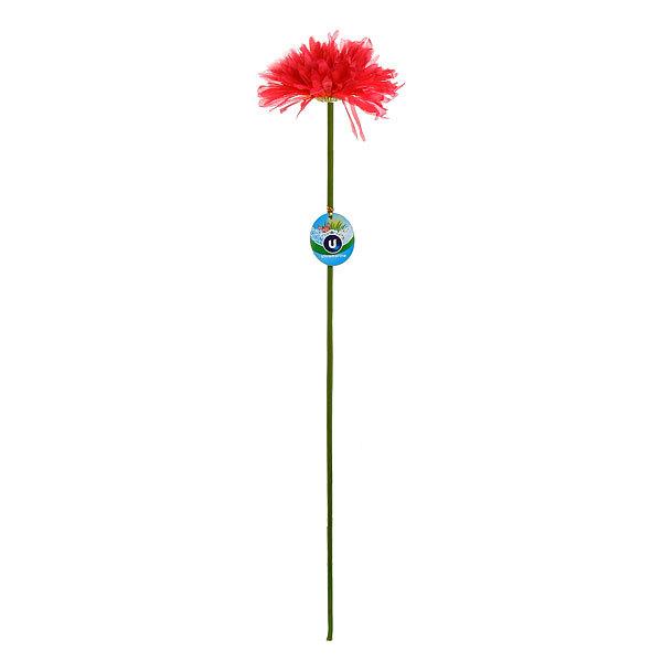 Цветок искусственный 60см декоративный Гербера купить оптом и в розницу