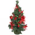 Ёлка 50 см украшенная с подвеской ″Веселого Нового года″ купить оптом и в розницу