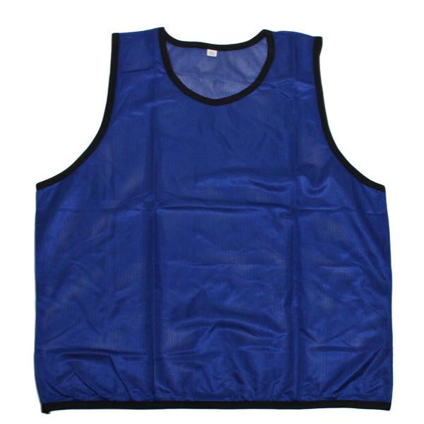 Манишка тренировочная (односторонняя, синий) купить оптом и в розницу