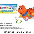Каталка 211SRC/5128ECR Кот на бат. свет, звук, в кор. купить оптом и в розницу