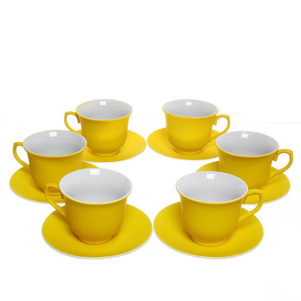 Чайный набор 12 предметов 180мл ″Бархат″ PX029 купить оптом и в розницу