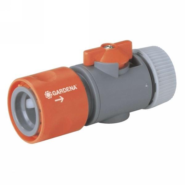 Коннектор с регулятором 1/2″ GARDENA 02942-29.000.00 купить оптом и в розницу