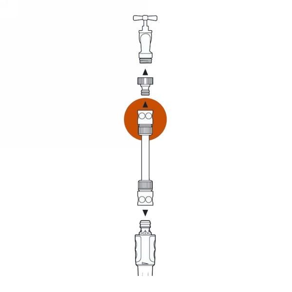 Коннектор стандартный 3/4″ GARDENA 02916-29.000.00 купить оптом и в розницу