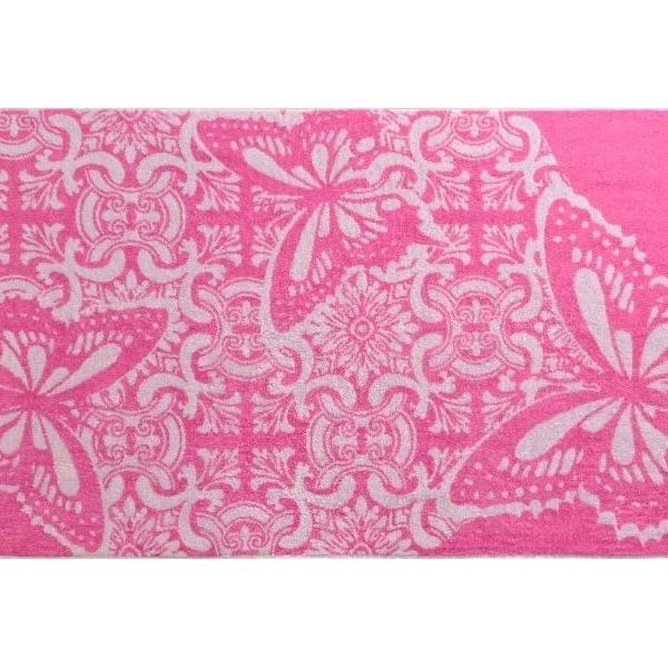 ПЦ-3502-1936 полотенце 70х130 махр п/т Macaone rosa цв.10000  купить оптом и в розницу