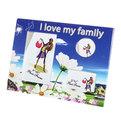 Фоторамка из керамики ″Мечта Семейная″ 3 в 1 20*25см F-1 купить оптом и в розницу