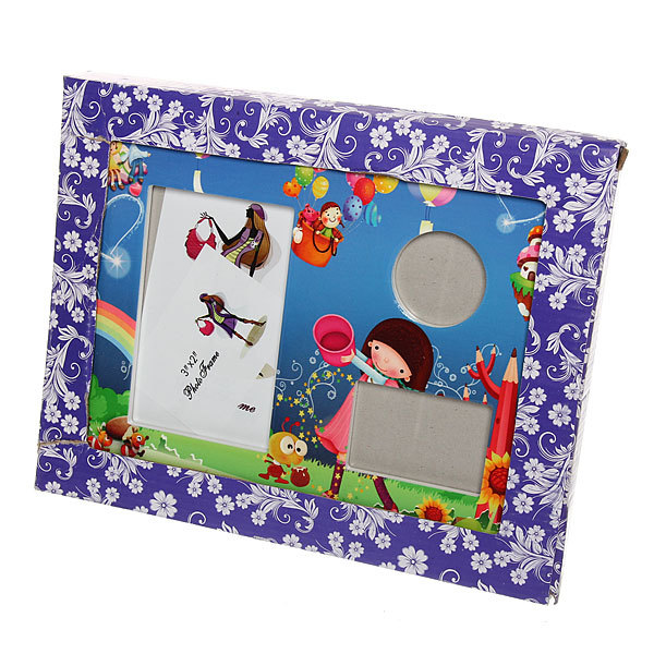Фоторамка из керамики ″Семейная″ детская, 3 в 1, 20*25 см купить оптом и в розницу