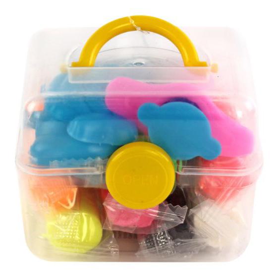 Набор ДТ Тесто для лепки 8 цв. формочки 63935 Color Puppy купить оптом и в розницу