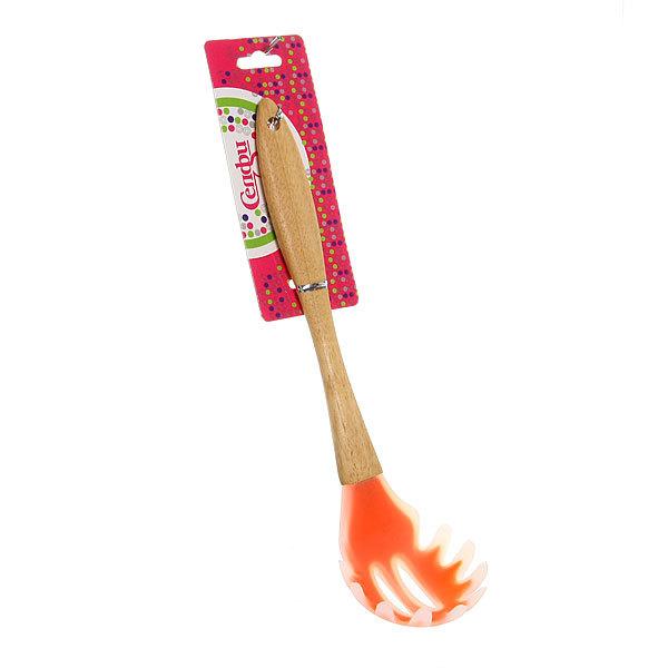 Ложка кухонная для спагетти силиконовая ″Бамбук″ Селфи купить оптом и в розницу