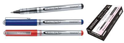 Ручка роллер Tenfon 0,5мм черная, мет. клип купить оптом и в розницу