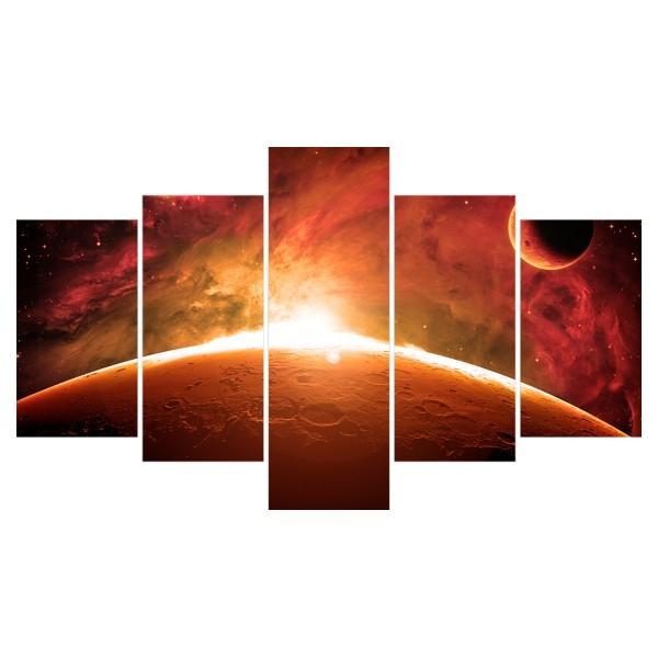 Картина модульная полиптих 75*130 Космос диз.8 85-02 купить оптом и в розницу