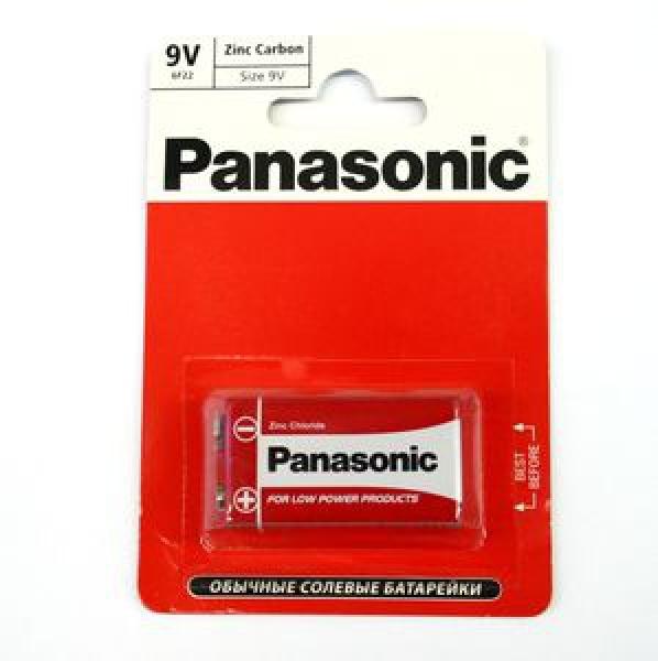 Элемент питания Panasonic Zinc Carbon блистер 1шт, 9В (1/12) купить оптом и в розницу