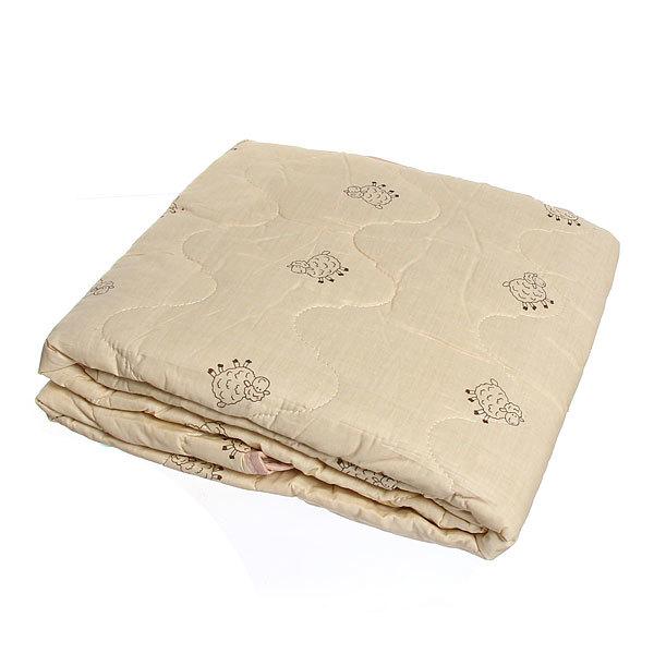 Одеяло 200*220см овечья шерсть Гаос в сумке 323/1 купить оптом и в розницу