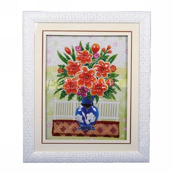 Картина объемная 59*70см ″Цветы″ H-4 купить оптом и в розницу