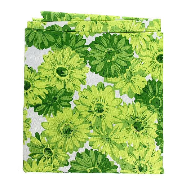 Скатерть ″Зеленые хризантемы″ 120*150см купить оптом и в розницу