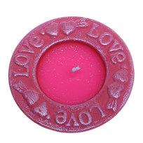 Свеча ″Валентинка″ LOVE 9.5см L12339 купить оптом и в розницу