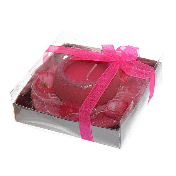 Свеча ″Валентинка″ LOVE кружево 9.5см L12338 купить оптом и в розницу