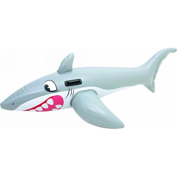 Игрушка для плавания верхом 183*102 см с ручками Большая белая акула Bestway (41032B) купить оптом и в розницу